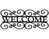 Welcome 3D Sign 1