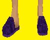 Purple Male Slippers