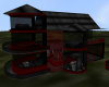 BlackRed Glass house