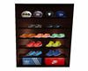 Men's shoe n hat closet