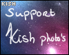 Support Kish photo's