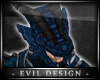 #Evil Blue Dragon Helm