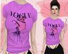 D : Vogue Purple Baby T