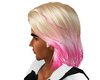 bloned and pink