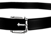 B! Leather Belt Mens