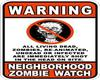 Zombie watch poster