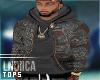 B│Tribe Bomber hoodie