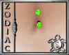 Neon Green Belly Ring