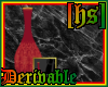 [HS]  Vase (bloodred)