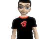 Haydaman Logo shirt-blk