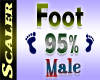 Foot Resizer 95%
