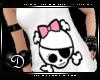{D} Cute Skull Tank