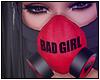 Miyu Mask Red Black