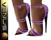 ~V~Lovia Heels Purple