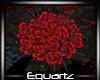Gothic Red Bouquet