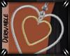 o: Heart Earrings M