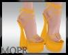special yellow heel