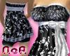 *NoA*Floral BW Dress V2