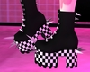 P! Chess Spike Shoes