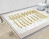 Gold Utensil Brunch Set