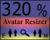Any Avatar Size,320%