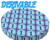 Derivable Tiled Circle