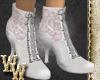 *WW Vintage White Boots