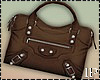 Brown Fall Hand Bag