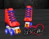 Roller Skates -Red