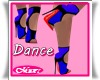Bimbo Dance Royal Heels