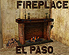 [M] EL PASO Fireplace