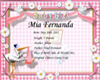 Mia Fernanda