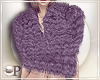 Tonya Faux Fur Purple