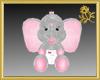Baby Elephant in Diaper