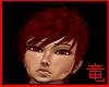 [竜]Red bangs hair