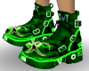 Boots Rave Neon Green