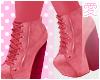 愛 Pink Booties
