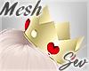 *S Queen Heart Crown