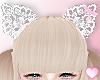 ❤ Kitty White Ears