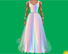 Rainbow Spring Gown