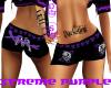 xtreme purple dub shorts