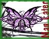 ! Purple butterfly