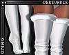 0 | Fur Thigh Socks