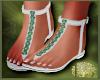 LS~Moss Sandals