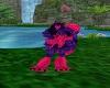 Husky Purple Pink Legs F