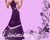 LM purple bridemaid