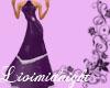 LM purple bridemaid