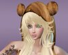 [M]Brown Fur Hat-Blonde