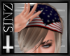 USA Flag Bandana Hair