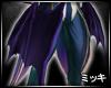 ! Violet Vampire Wings